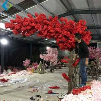 Buy cheap One Side Long Canopy Artificial Flower Tree , Customized Cherry  Blossom Tree from wholesalers