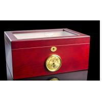Buy cheap Customized Luxury Cigar Gift Box Cases / Groomsmen Antique Cigar Humidor from wholesalers