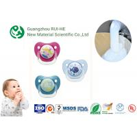 Buy cheap Liquid Silicone Rubber For Baby Nipples, Bottles Injection Molding 2 Part LSR 6250 - 60 With LFGB from wholesalers