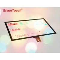Buy cheap High Accuracy 42 Inch Capacitive Touch Screen Module Pcap Fingerprint Sensors from wholesalers