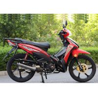 Buy cheap 110CC Super Cub Motorcycle , Underbone Motorcycle With Big Rear Carrier from wholesalers