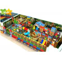Buy cheap Kids Zone Plastic Indoor Playset , Soft Play Structures Non Toxic Material from wholesalers