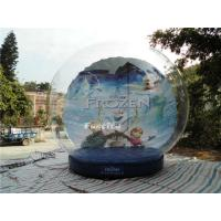 Buy cheap CE Outdoor Snow Globe Inflatable / Airblown Snow Globe For Events from wholesalers