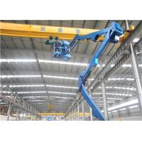 Buy cheap 15m Articulating Man Lift Sandproof Climate Resistant Automatic Levelling For  Urban Managemen from wholesalers