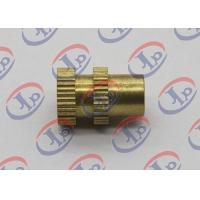 Buy cheap 0.315in X 0.473in CNC Turned Parts Brass Knurled Bolts With Through Hole product