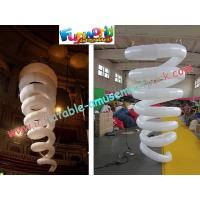 Wholesale Curve Inflatable Lighting Decoration For Outroor , 2m Light Exhibition from china suppliers