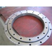 Buy cheap land leveller use slewing bearing, 50Mn, 42CrMo slewing ring used for motor road grader from wholesalers