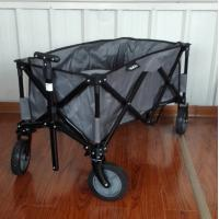 Buy cheap Folding Collapsible Wagon + Cover Cart Storage Camping Outdoor Events Beach from wholesalers
