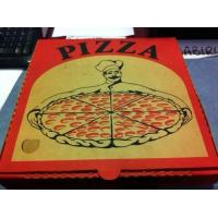 Buy cheap Pizza Box Corrugated With Logo from wholesalers
