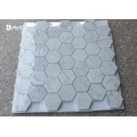 Wholesale Hexagon Carrara Natural Stone Mosaic Tile Sheets For Walls And Floors Decor from china suppliers