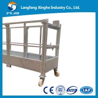 Buy cheap zlp630 suspended platform /suspended scaffolding/faced cleaning suspended cradle in Hebei from wholesalers