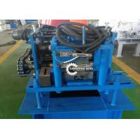 Buy cheap Roller Shutter Door Roll Forming Machine , Guide Rail Cold Forming Machine from wholesalers