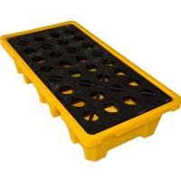 Buy cheap Convenient 4 Drum / 2 Drum Spill Containment Pallet With Drain For Oil Drum from wholesalers