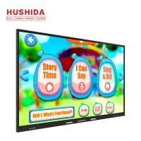 Buy cheap HUSHIDA 75 Inch School Application Touch Screen free pen Monitor interactive whiteboard software from wholesalers