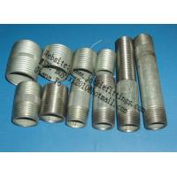 Buy cheap Hot-dipped galvanized Malleable iron pipe fittings-Nipple coupling elbow locknuts plug Union from wholesalers