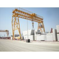 Buy cheap Customised Steel Rail Mounted Gantry Crane 100Ton Span 25m for Container Handling from wholesalers