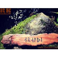 Buy cheap Natural gift personalized customized wooden bookmark for readers from wholesalers