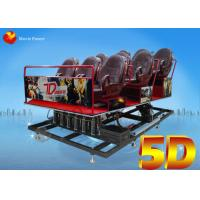 Buy cheap Back Poking / Air Injection 5D Motion Theater Mobile Cinema Truck 2.25KW 220V from wholesalers