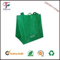 Buy cheap Jute in green color economic wholesale shopping bags from wholesalers