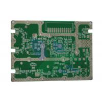 Buy cheap Half Hole HDI Fr4 pcb circuit board Immersion Silver Surface Rogers from wholesalers