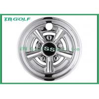 Buy cheap White 8 Inch Golf Cart Wheel Covers Hub Cap 31 X 25.9 X 25.1 Cm For Ezgo from wholesalers