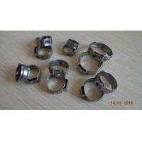 Buy cheap Single ear stainless steel tube clamp,Customized stainless steel hose clamps, made in China professional manufacturer from wholesalers