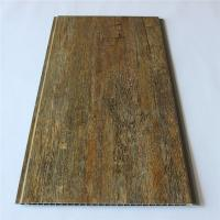 Buy cheap Wooden Color Wood Plastic Composite Decking Floor For Wall Ceiling product