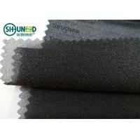 Wholesale Garment Suits Plain Weave Fusible Woven Interlining Polyester Light Weight from china suppliers