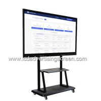 Buy cheap 75'' Touch Screen Interactive Whiteboard  Windows i3 For Conference Room from wholesalers
