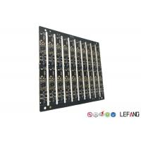 Wholesale Multilayer PCB Circuit Board 6 Layers 0.8mm Board Thickness With Black Soler Msak from china suppliers