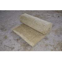 China Fire Resistant Rockwool Insulation Blanket , Furnaces Rock Wool Roll on sale