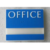 Buy cheap custom ADA room signs Thermoforming Signage Vandal Proof With Changeable Information Window from wholesalers