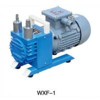 Buy cheap WXF-1  oilless rotary vane vacuum pump from wholesalers