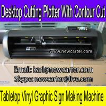 Buy cheap HW630 Vinyl Sign Cutter Plotter Contour Cutting Plotter Adhesive Vinyl Letter Cutter 24'' from wholesalers