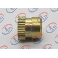 Buy cheap Custom Small Brass Knurled Nuts 12mm X 12Mm Size Heat Treatment Surface product