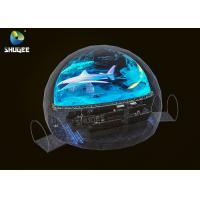 Quality Black Dome Movie Theater Capacity 28 People / 360 Dome Projection for sale