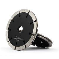 Buy cheap Durable Diamond Cutting Blade Fast Speed Laser Welded Segmented Type Black Color from wholesalers