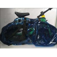 Wholesale New Arrival 12inch  Children Balance Bike Bag   Transparent PVC Baby Push Bike Bag Blue from china suppliers