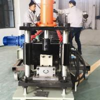 Buy cheap 2-3 M / Min Vineyard Post Metal Roll Forming Machine With Hydraulic Punching from wholesalers