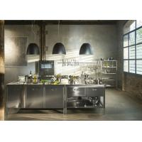 Buy cheap Integration Stainless Steel Commercial Kitchen Cabinets Environmentally Friendly from wholesalers