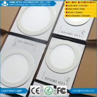 Buy cheap Super Bright 18W nature White Led Round Panel Light Fixture For Factory , AC 85V - 265V from wholesalers