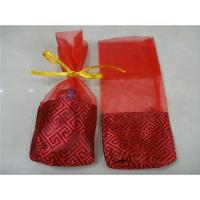 Buy cheap Organza pouch,Red color,new style,7cmx17cm from wholesalers