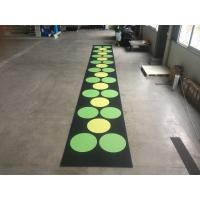 Buy cheap Recycled Outdoor Rubber Mats , 15-60mm Thickness Rubber Gym Flooring Tiles from wholesalers