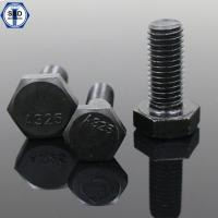 Buy cheap ASTM A325M 8S Heavy Hex Structural Bolts Black Finish/Zinc Plated from wholesalers