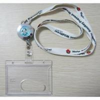 Buy cheap Badge holders, PVC badge holder, Badge holder with lanyard, ID badge holder with lanyard from wholesalers