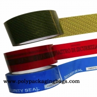 Buy cheap Customer Printing 25mm / 50mm Width Small Size Tape Void Open Tape For Plastic Box from wholesalers