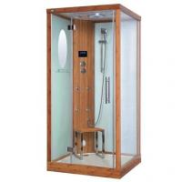 Buy cheap Eco-Friendly Bamboo Steam Shower Room Square With  Fm / CD / Mp3 Input from wholesalers