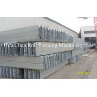 Buy cheap Hydraulic Automatic Highway Guardrail Roll Forming Machinery with CE Certificate from wholesalers