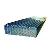 Buy cheap Ultraviolet Radiation Resistant Galvanized Corrugated Panels , PPGI Roofing Sheet from wholesalers