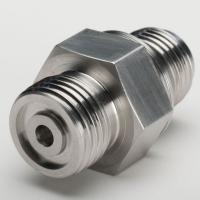 Buy cheap china Custom Precision CNC Machined Parts Steel Hexagonal Connectors manufacturer from wholesalers